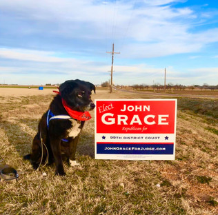 Fiona with a Yard Sign.jpg