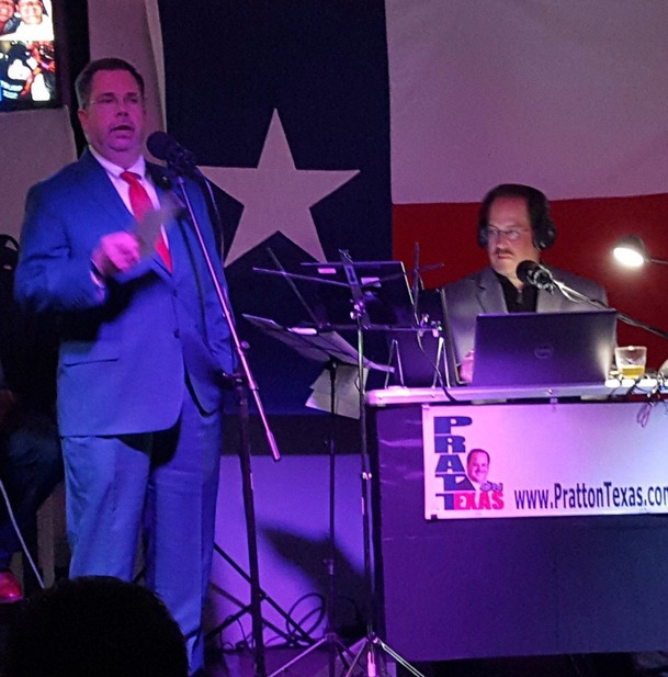 Pratt On Texas Candidates Forum.JPG
