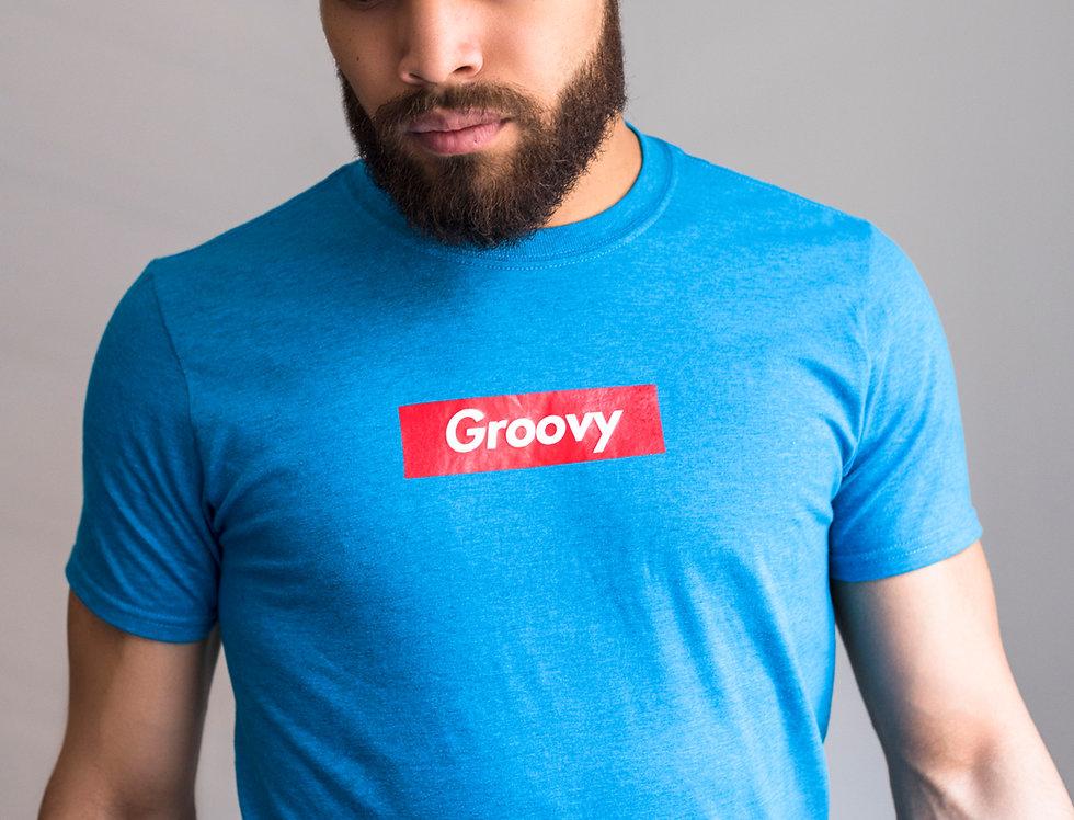Blue T-shirt Groovy