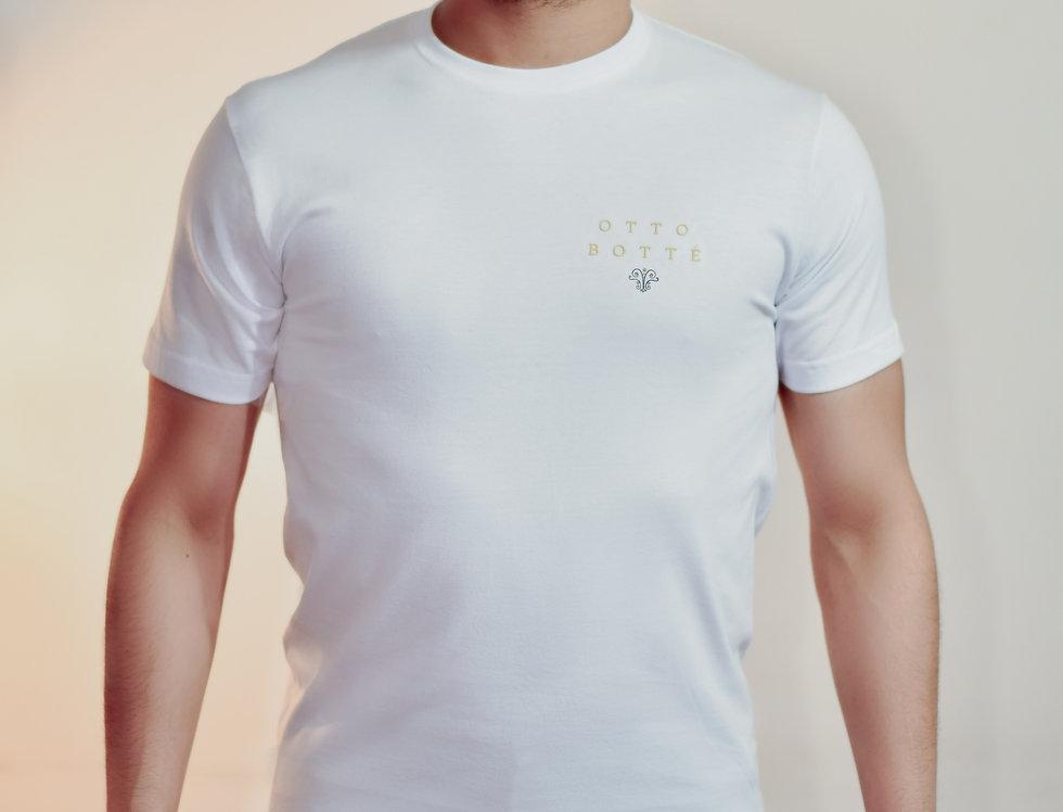 White T-shirt - Otto Botté - HUMBARA