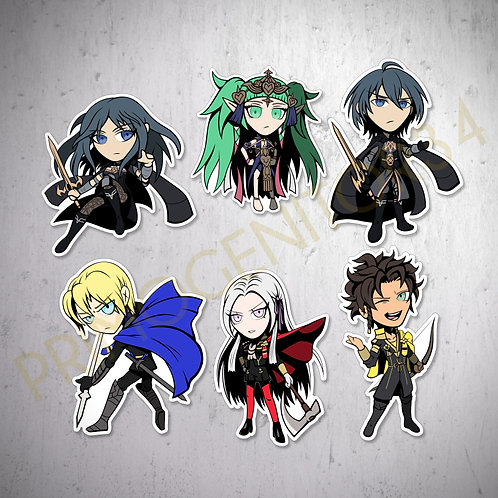 Fire Emblem: Three Houses Sticker Set