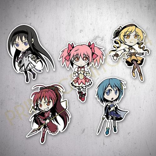 Madoka Magica Sticker Set