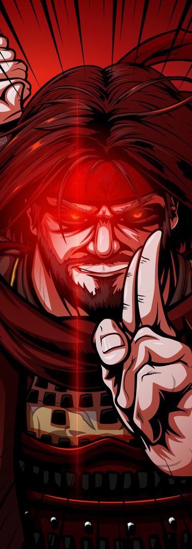 Vanzo the Vampiric Ninja (Commission)