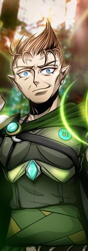 Druid Elf (DND Commission)