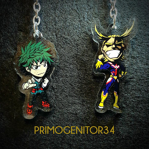 My Hero Academia Character Charms