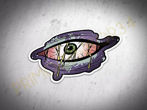 Crusty Eye Sticker