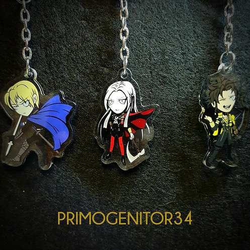 Fire Emblem Three Houses Character Charms