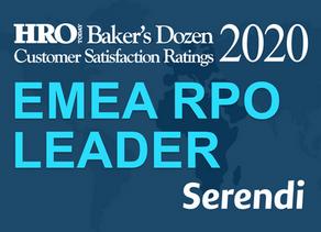 Serendi is among the BEST EMEA RPO PROVIDERS in 2020