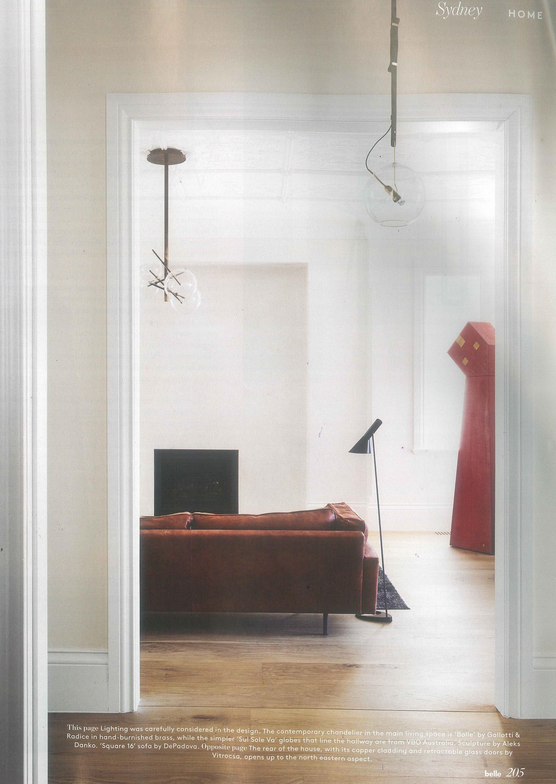 Belle Magazine - Bronte House 2