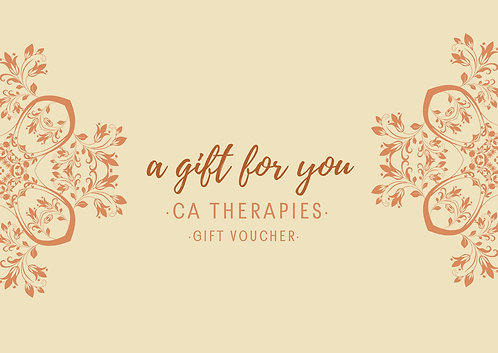 Gift Voucher 60 Minute Massage