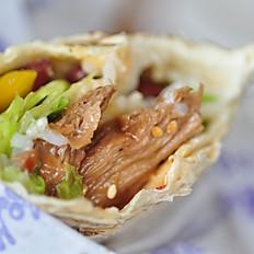 Биг буритто Веган (соевое мясо)