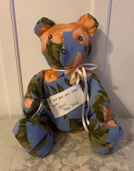Memory Bear- with CUSTOM Embroidery