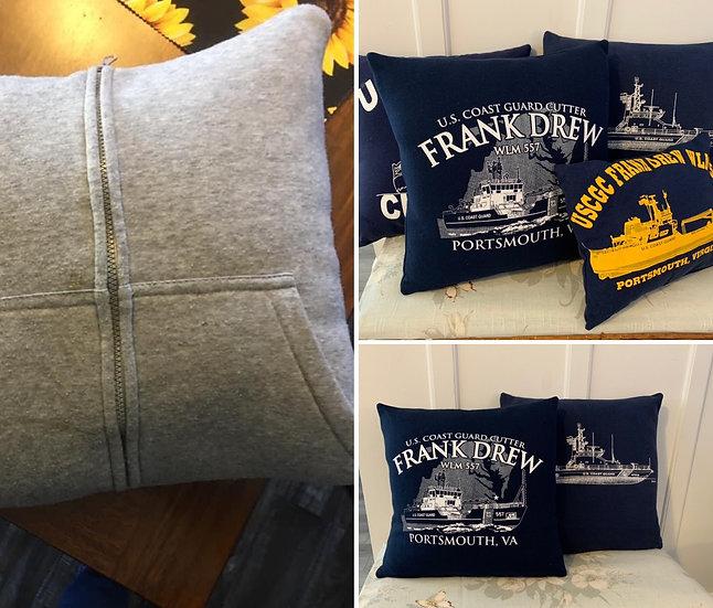 Tshirt/Sweatshirt Pillow- No Embroidery