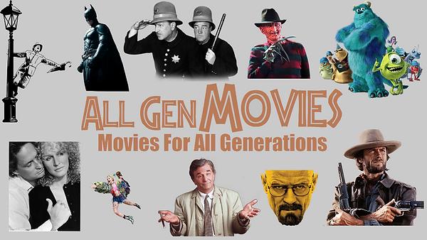 All Gen Movies Logo Thumbnail and Splash