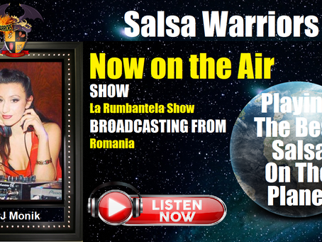 La Rumbantela Show Now on the Air with DJ Monika (From Brasov, Romania)