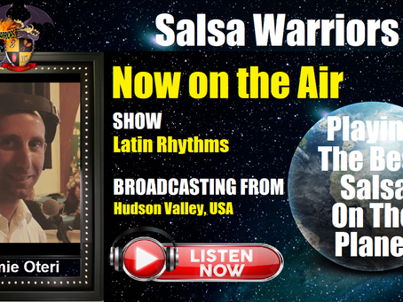 Latin Rhythms Show Now on the Air with DJ Jamie (From Hudson Valley, NY)