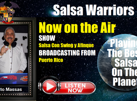 Salsa con Swing y Afinque Now on the Air with Tito Massas (From Puerto Rico)