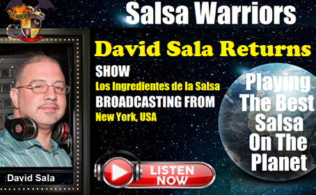 DJ David Sala Returns to Salsa Warriors