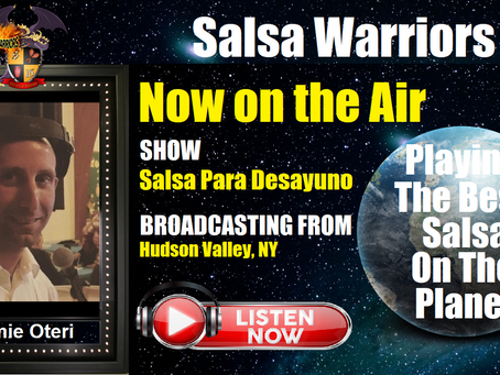 Salsa Para Desayuno Show Now on the Air with DJ Jamie (From Hudson Valley, NY)