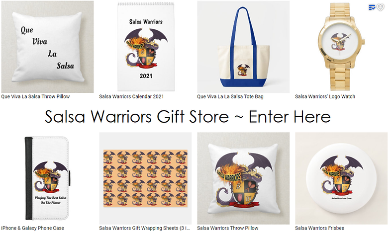 Salsa Warriors Gift Store, Enter Here.pn