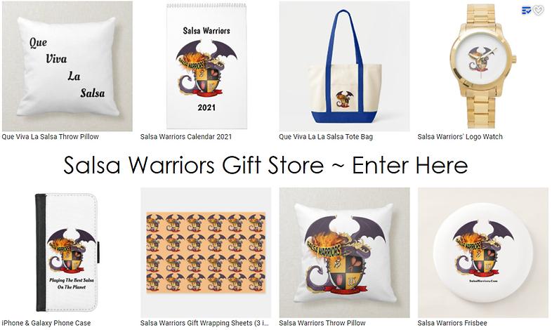 Salsa Warriors Gift Store, Enter Here.pn