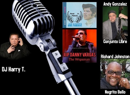 DJ Harry T. presents Tribute to Joe Acosta, Wepaman, Andy Gonzalez & Richard Johnston