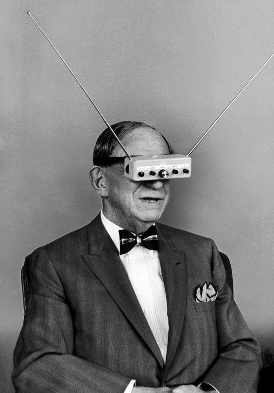 Hugo Gernsback's 1963 television eyeglasses anticipated virtual reality / Boing Boing