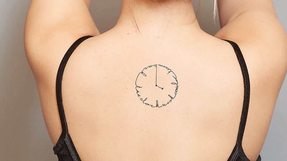 ANTI TIME - WISH I COULD TURN BACK THE CLOCK - TATTOO