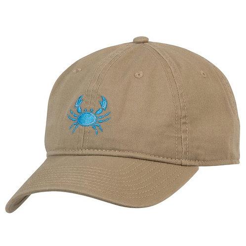 Hat - Khaki Crab Logo