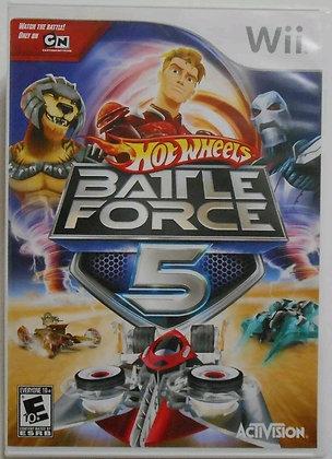 Hot Wheels: Battle Force 5 (Nintendo Wii, 2009)