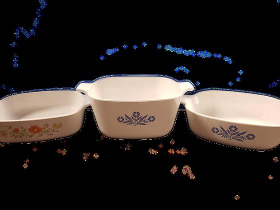 3pc Corningware Set