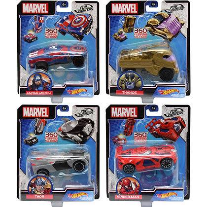 Hot Wheels® Marvel Flip Fighters