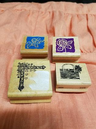 Set of Ink Stamps