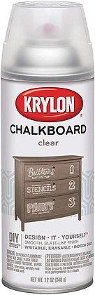 Krylon I00808007 Clear Chalkboard Paint, 12 ounces