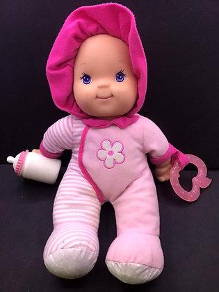 Happy Baby Little Girl Baby Doll