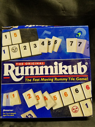 The Original Rummikub The Fast Moving Rummy Tile Game!