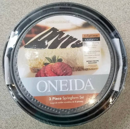 Oneida Non-stick 3 Pack Spring Form Pans