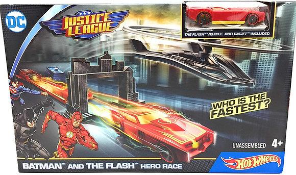 HOT WHEELS BATMAN AND THE FLASH HERO RACE