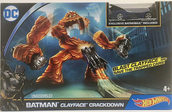 Batman Clayface Crackdown
