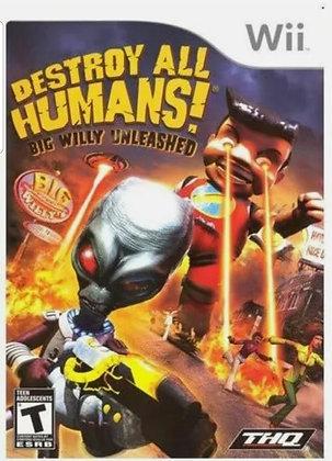 Destroy All Humans! - Original Nintendo Wii Game