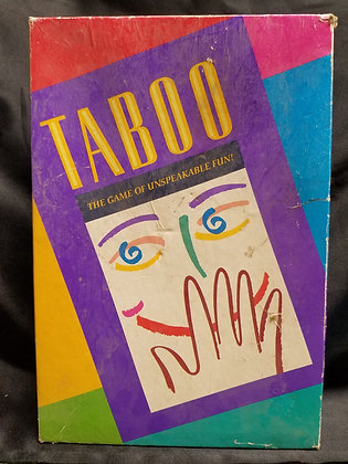 Taboo The Game of Unspeakable Fun!!