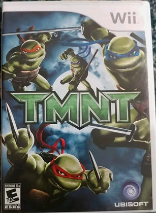 TMNT (Nintendo Wii, 2007) W/ Manual