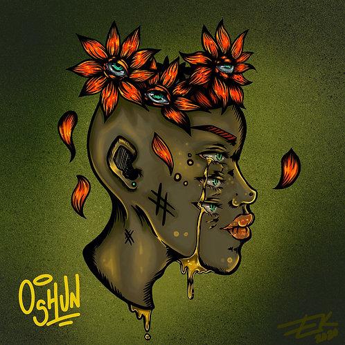Oshun (8x8 Print)
