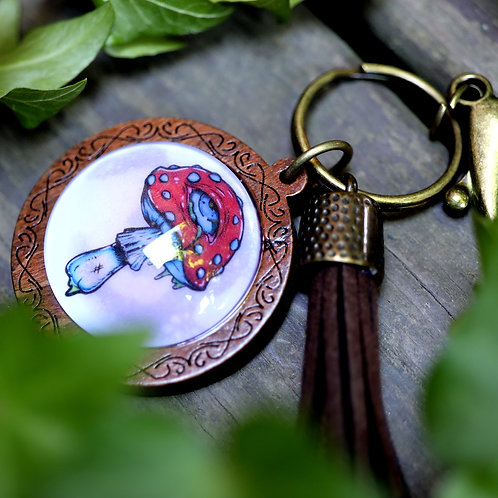 Shroom Gloom - Keychain