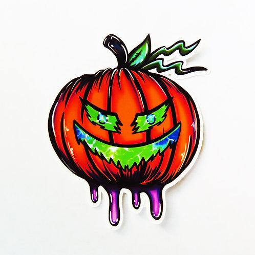Twisted Pumpkin - Single Sticker