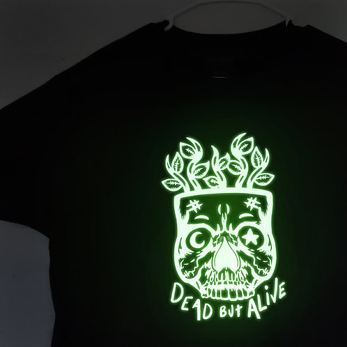Dead but Alive Shirt - Glow in the Dark