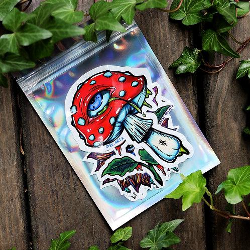 Plants #1 - Sticker 4 Pack