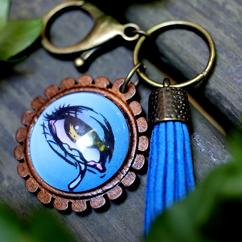 Eye of Kali - Keychain