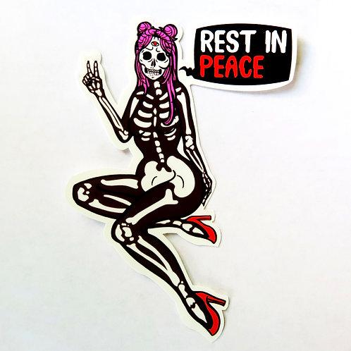 Rest In Peace - Single Sticker
