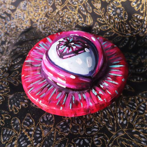 3rd Eye Incense Holder - Heart Eye